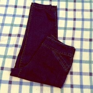 Kim Rogers Cropped Jeans 👖 Size 10
